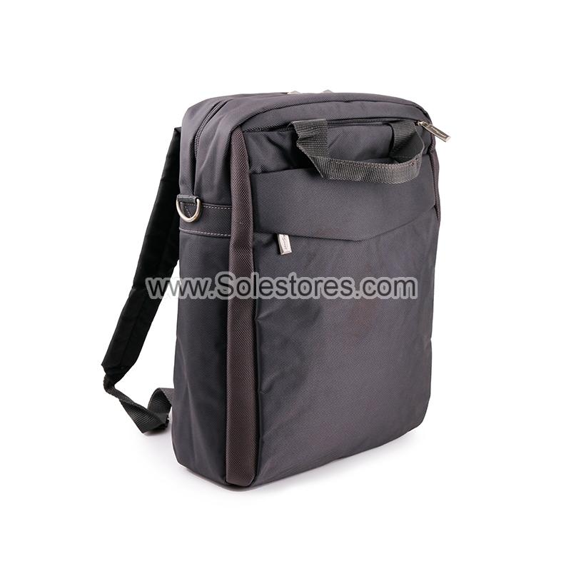 15' Backpack Laptop Document bag (Black)