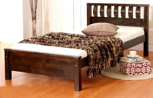 157 Wooden Single Bed