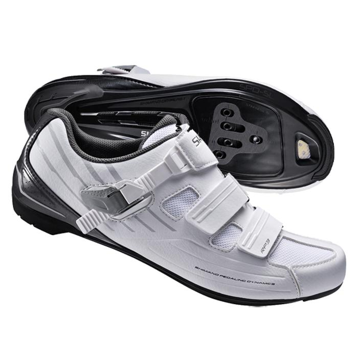 16 Shimano RP3 Shoes Clipless SH-RP3 RP2 Black White road cycling shoe