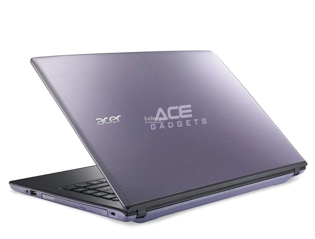 [17-Oct] Acer Aspire E5-475G-560B Notebook *Intel i5-7200U* (Purple)
