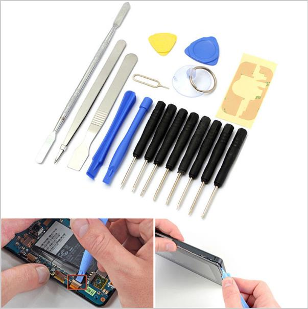 18 IN1 Mobile Repair Opening Tools Kit Set Pry Screwdriver For CellPho
