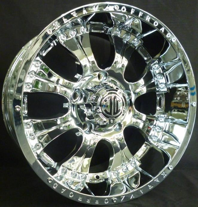 18 Inch Ninja King New Sport Rim Super Chrome