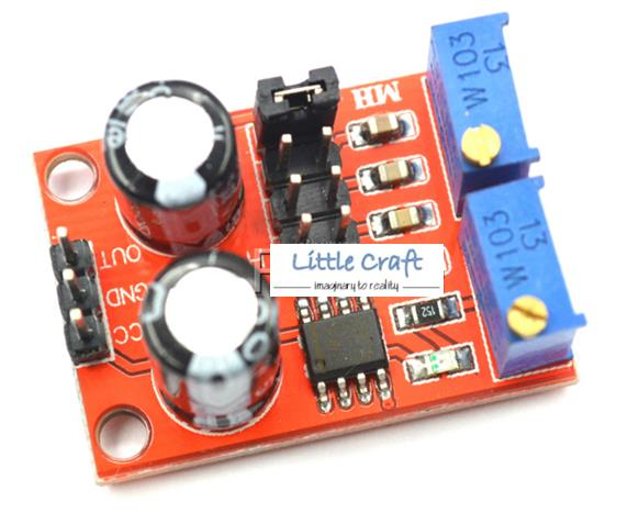 1Hz - 200kHz Adjustable Pulse Generator For Arduino