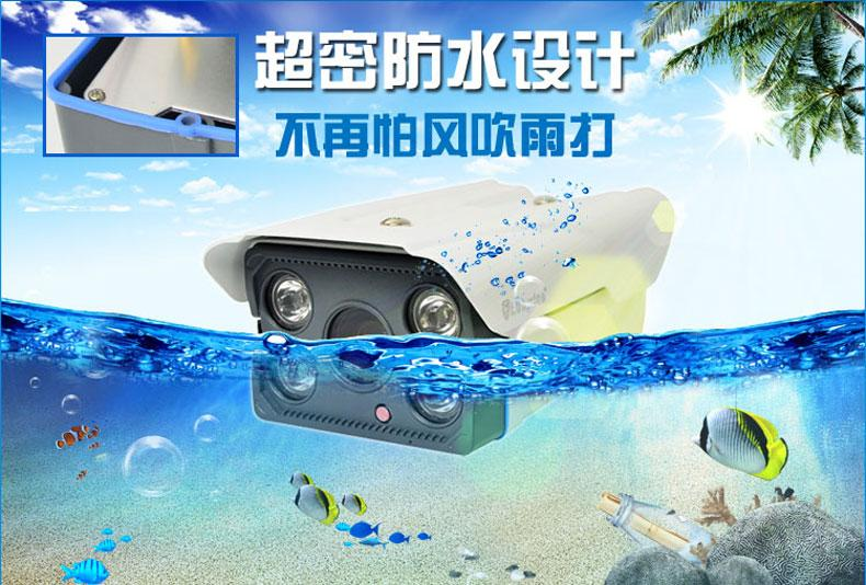 1Megapixel  Network IP Camera 720P Network Remote Surveillance Camera