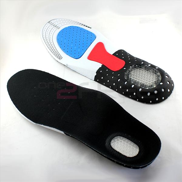 1Pair Orthotic Arch Support Shoe Running Sport Gel Insoles Insert Arch