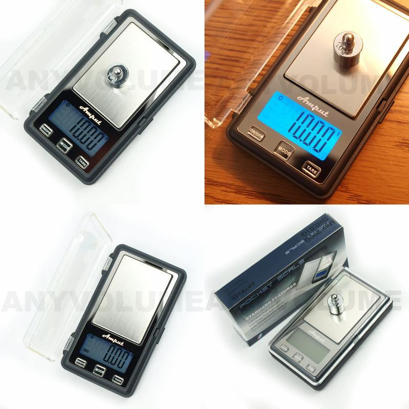 1pc Mini Portable Digital Precision Scale (200g Max / 0.01g)