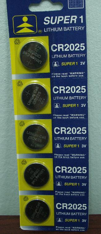1pcs (5 pieces) CR2025 button cells, Grab quickly