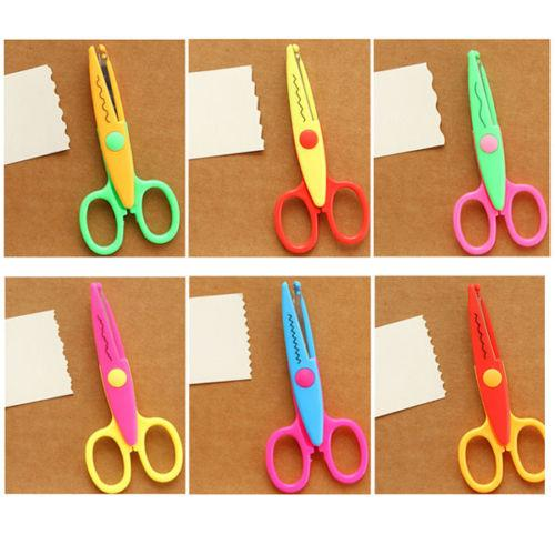 Penha 6pc art and craft scissors set for kids student for Arts and crafts sets for kids