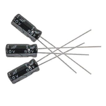 1uF, 50V Electrolytic Capacitor