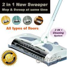 2 In 1 Cordless Electric Sweeper And Mop Rechargeable battery Rotary R