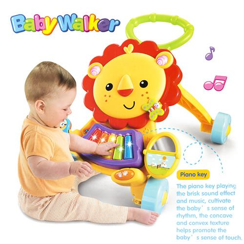 2 in 1 Musical Lion Baby Walker!Promo!