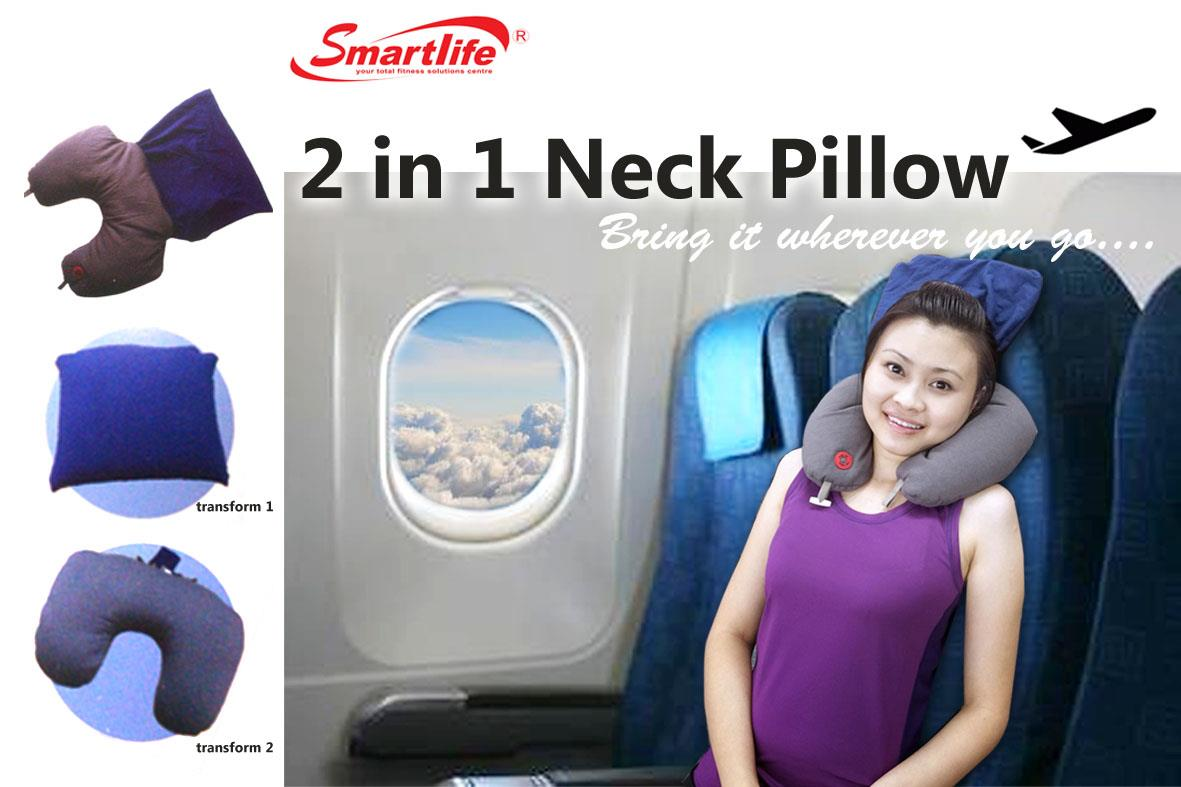 2-IN-1 NECK PILLOW