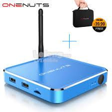 2-in-1 Octa Core Streaming Media Player & Game Android TV Box