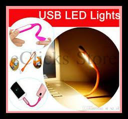 2 In 1 Portable Mini LED USB Light Lamp + Micro USB Charging Cable