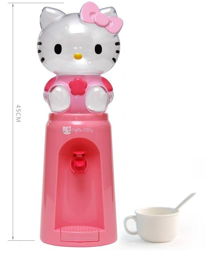 2.5 Liters Mini Water Dispenser 8 Glasses Water Dispenser Hello Kitty
