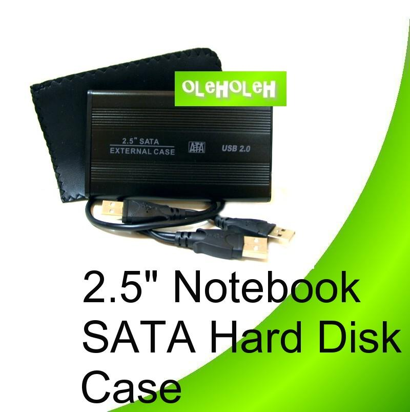 2.5' Notebook Sata Hard Disk Enclosure External Case