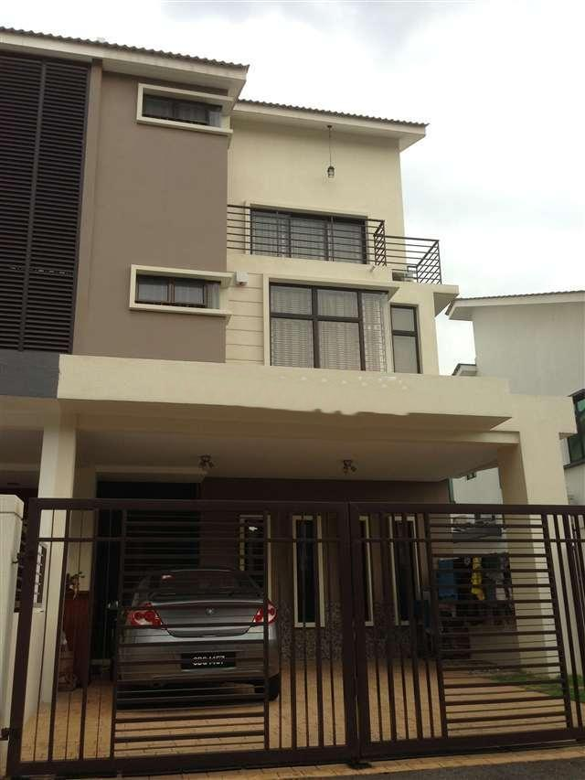 2.5 sty Terrace House, partly furnished, bandar puteri 6, puchong