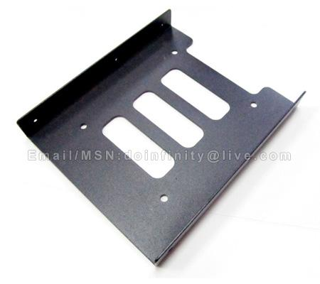 New 2.5' to 3.5' Hard Disk Drive Rack Bay SSD HDD Mounting Bracket PC