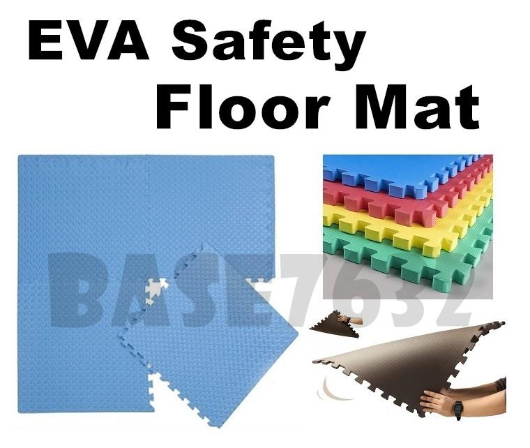 2.5cm 60x60cm Sport Safety Baby Infant Eva Safety Floor Play Mat