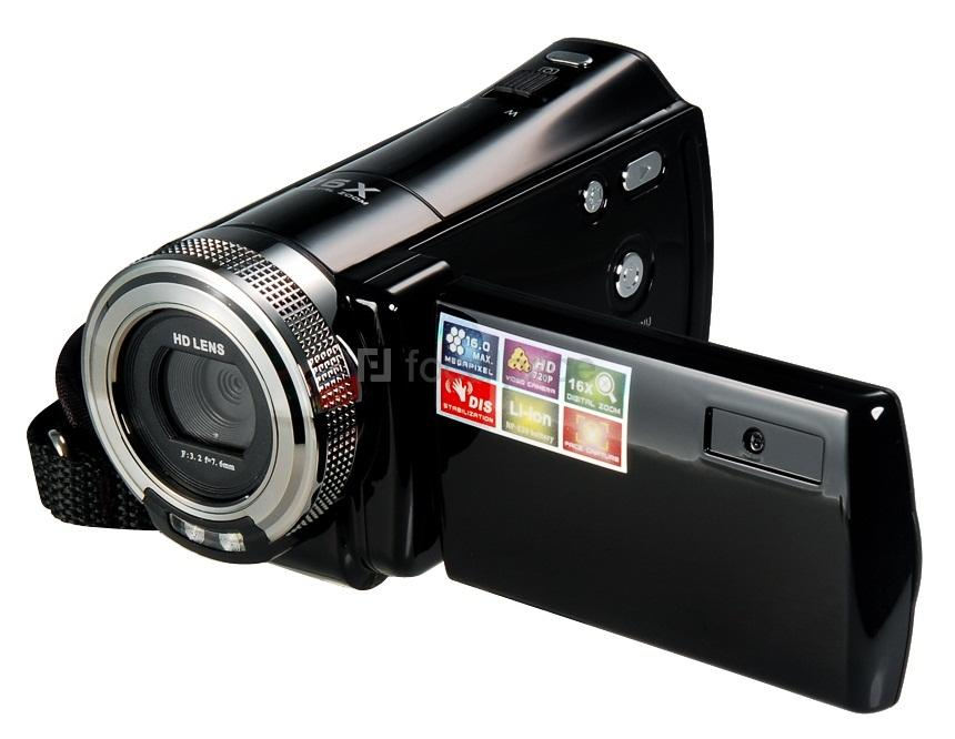 2.7'' TFT-LCD CMOS Sensor 16.0MP Mini HD DV Digital Video Camcorder