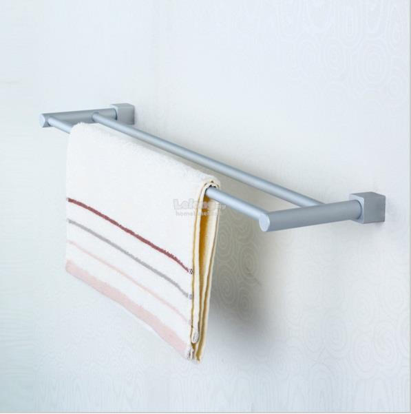 2 Bar Towel Hanger Aluminium