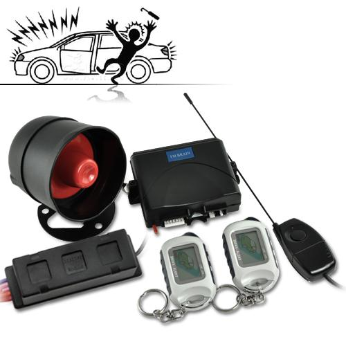 2-Way Car Alarm Security System (Luxury Edition)