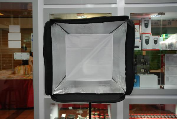 2 Layer 60 x 60cm Softbox + white Color Diffuser + 3m Light Stand