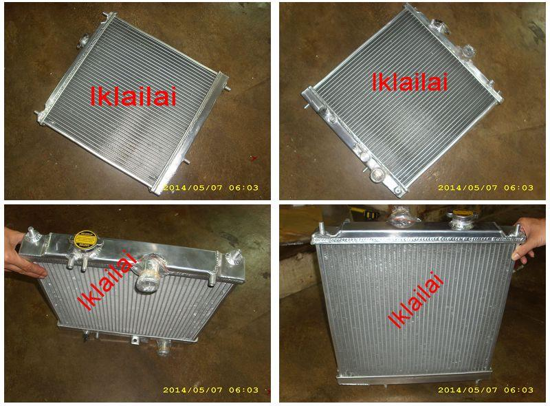 2-Layer Aluminium Radiator Wira 1.3 / 1.5 / 1.6 / 1.8