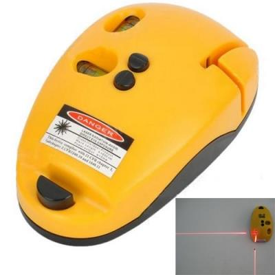 2-Line Laser Level Meter Mouse Type Right-angle Level Marking Device