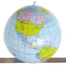 2 pcs Educational Inflatable World Globe/Map Ball