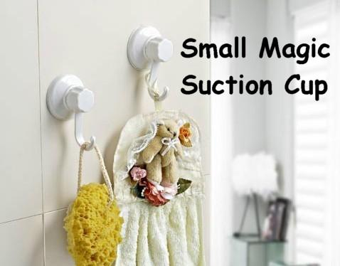 2 pcs Small Magic Suction Hook Hanger
