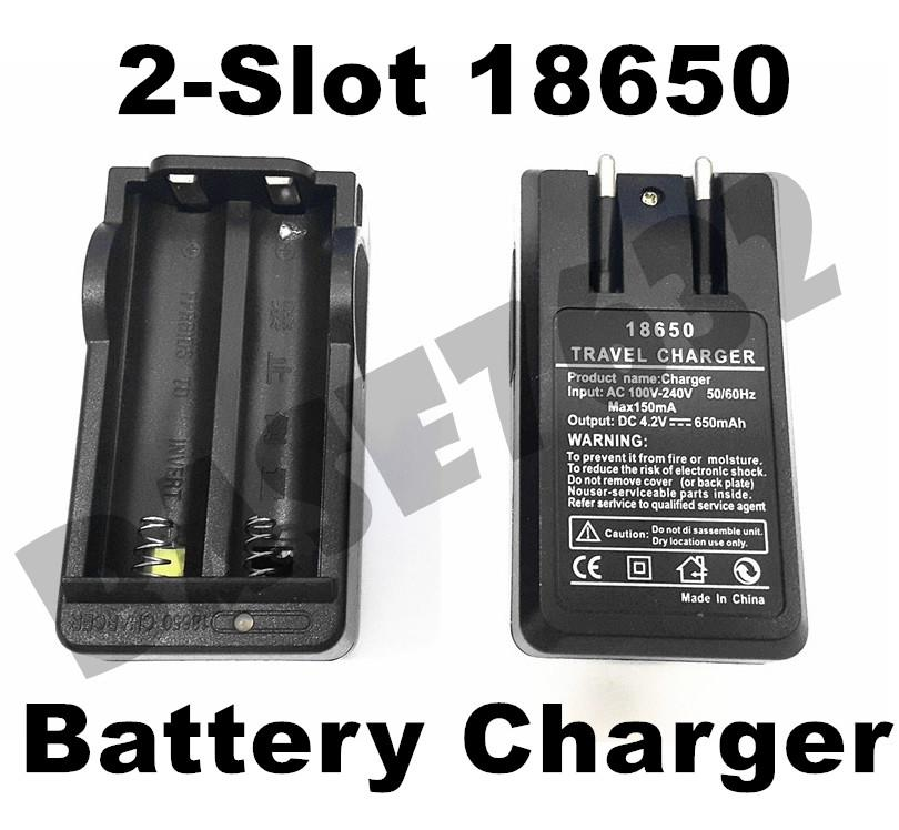 2-Slot Ultrafire 18650 4.2V Compact Li-ion Battery Charger Travel  New