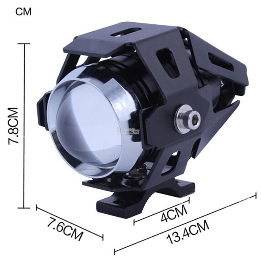 2 unit U5 Motorcycle Led Headlight Driving Fog Spot Light Lamp