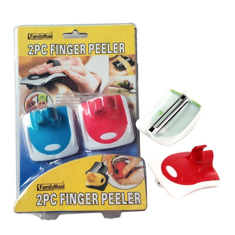2 x Fruit Peeler Planer Magic Fingers Peelers