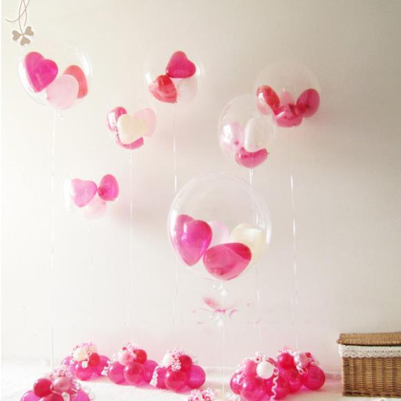 20 inch T balloon Clear / Transparent balloon from Japan