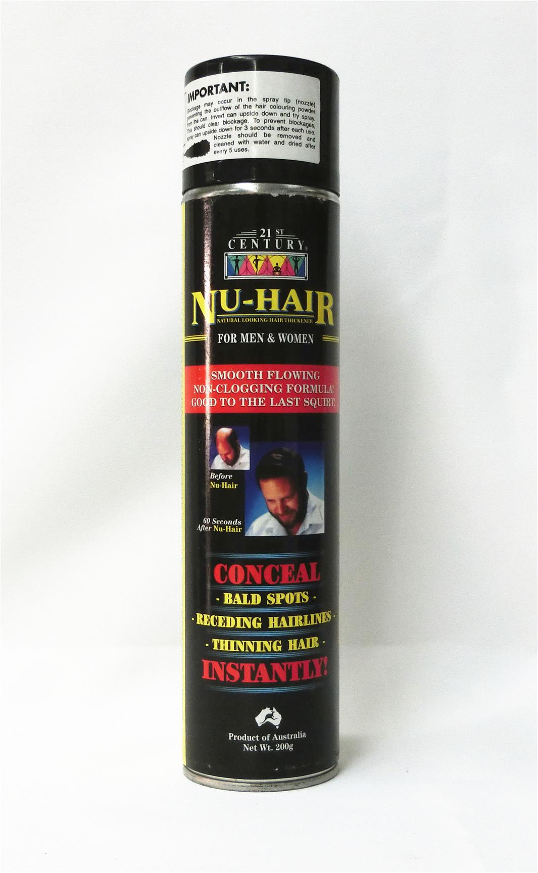 200g 21st Century Nu Hair Thickener Black