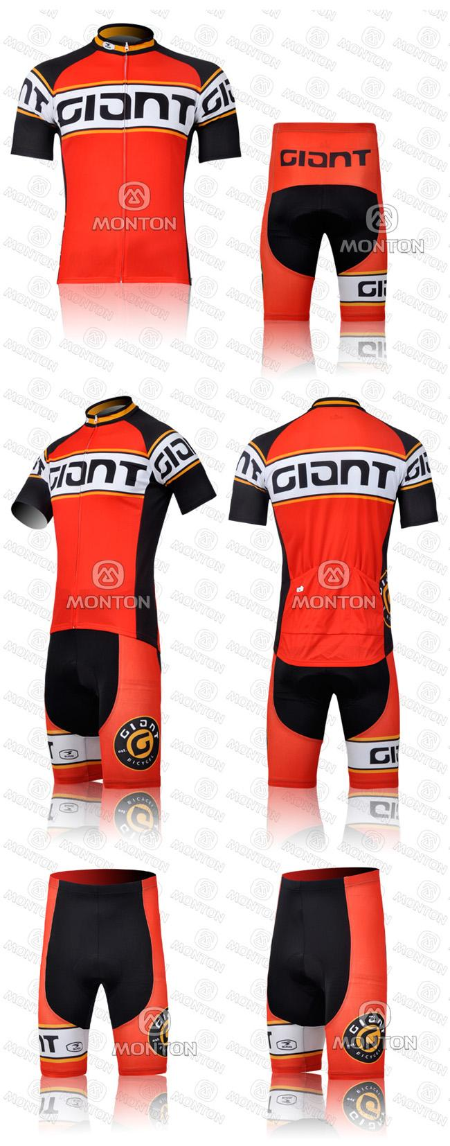 2011 GIANT Retro version cycling jersey short bike bicycle MTB