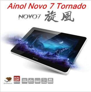New*2012*Top Quality Ori Ainol Novo7 Tornado 4.0.3 8GB 1GB DDR3 1080p