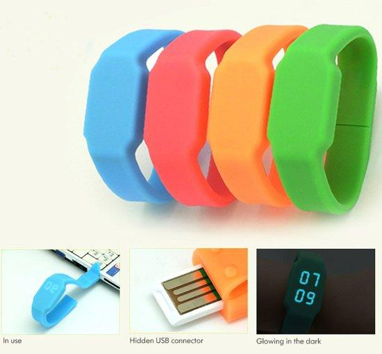 2013 NEW LED Watch with 4GB USB FLASH DRIVE/THUMBDRIVE/PENDRIVE/SPORT