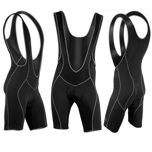 2013 Men's Cycling Bicycle Bike Bib Shorts 3D Coolmax Padded Braces Pa