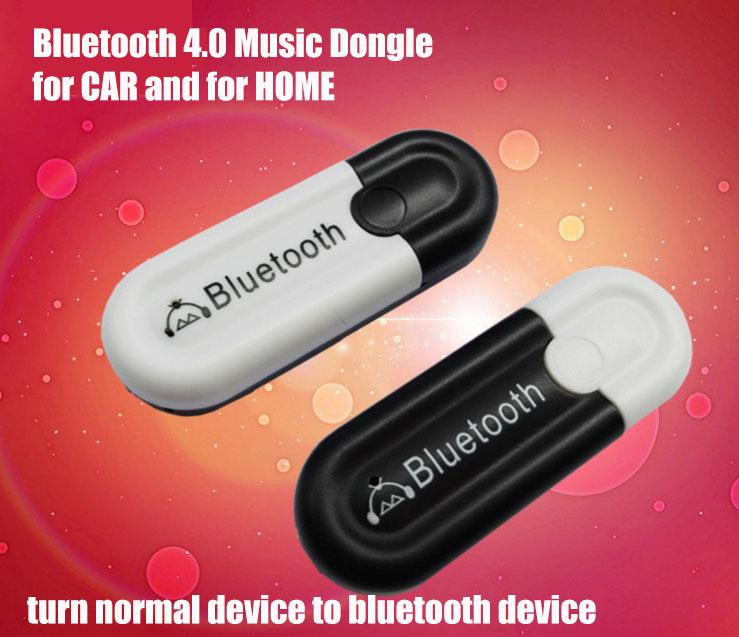 2016 New Bluetooth 4.0 Music Dongle Car MP3 Player Home HIFI Speaker