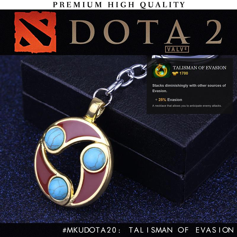 2016 New DOTA 2 In-Game Item Talisman Of Evasion 31cm Keychain