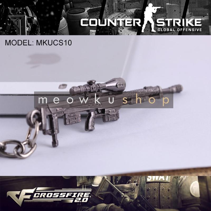 NEW 2016 DSR-1 CSGO Counter-Strike CS CF2 CrossFire Metal Keychain
