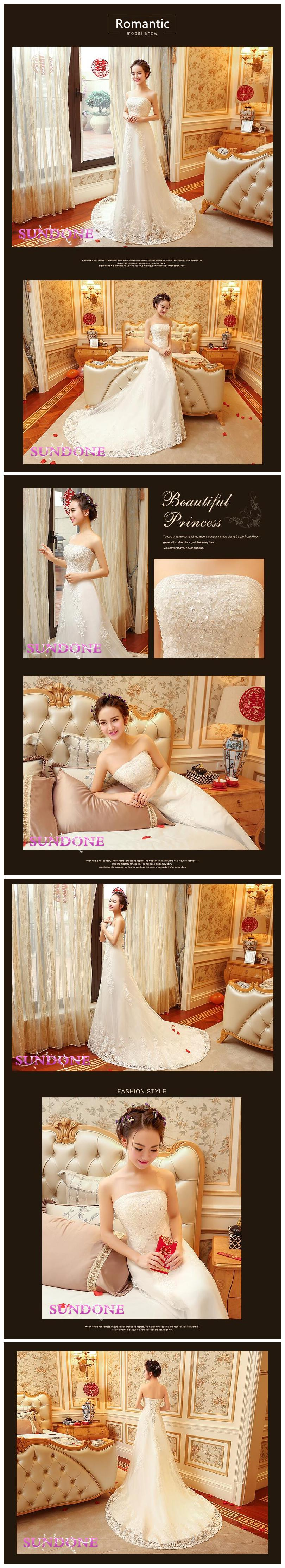 2016 New Fish Tail Fish Wedding Dress wd 1603