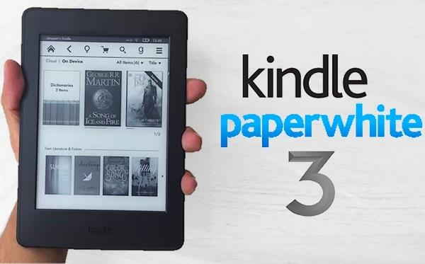 2016 New Kindle Paperwhite 3 eReader 4GB + Free Screen Protector