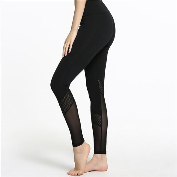 2016 New Launched Women Sexy Jogging Yoga Gym Elastic Pants Ninth Pant