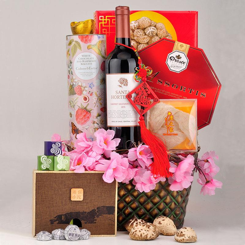 2017 CNY  Hamper with Exclusive Packaging & Decoratives +FREE SHIPPING
