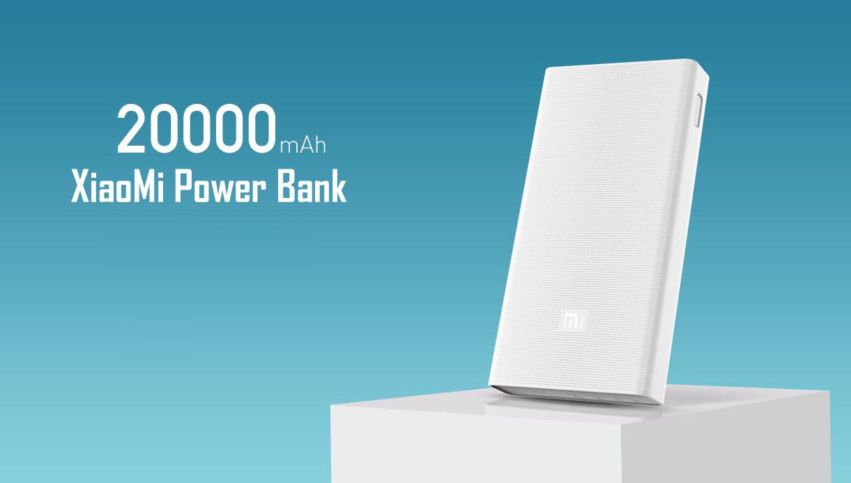 2017 New Xiaomi Power Bank 20000mAh Mi Power Bank 20000mAh