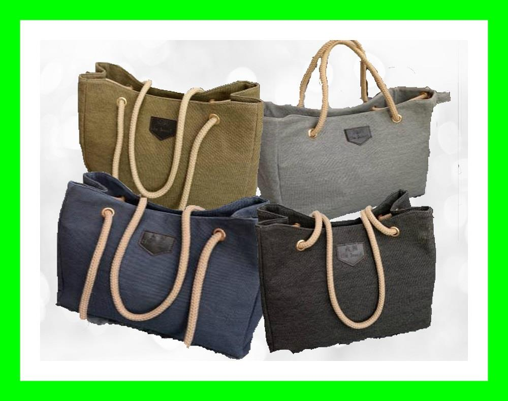 21.99 ONLY FASHION EUROPE CANVAS LINEN BAG BUCKET SHOULDER TOTE  BAG