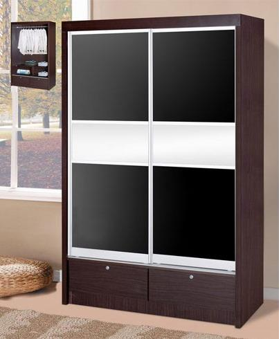 211B Two Sliding Door Wardrobe